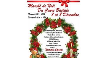 Marché de Noël du cours Bastide