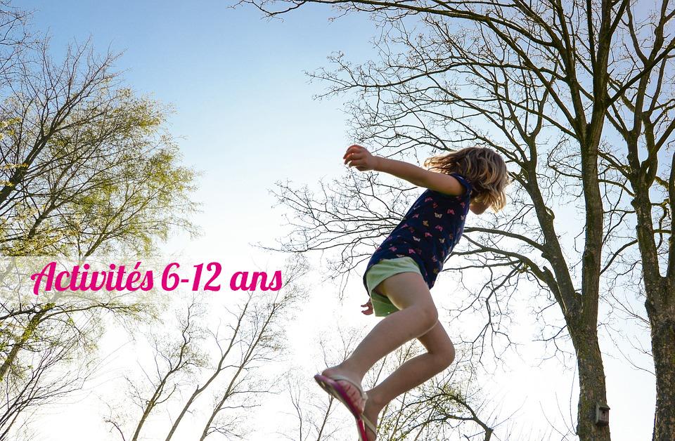 Les activités à Marseille pour les enfants de 6 à 12 ans.