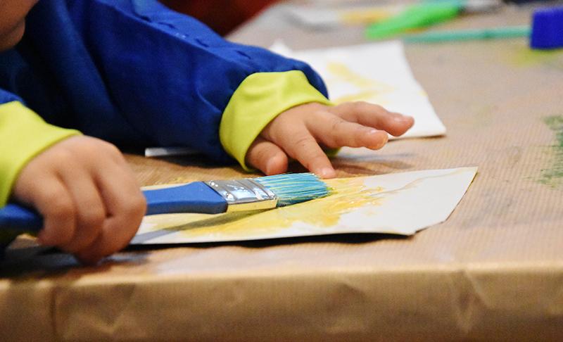 Cocon d'Art, des ateliers pour les enfants au Poisson Lune
