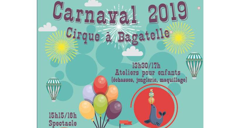 Carnaval dans le Parc de Bagatelle