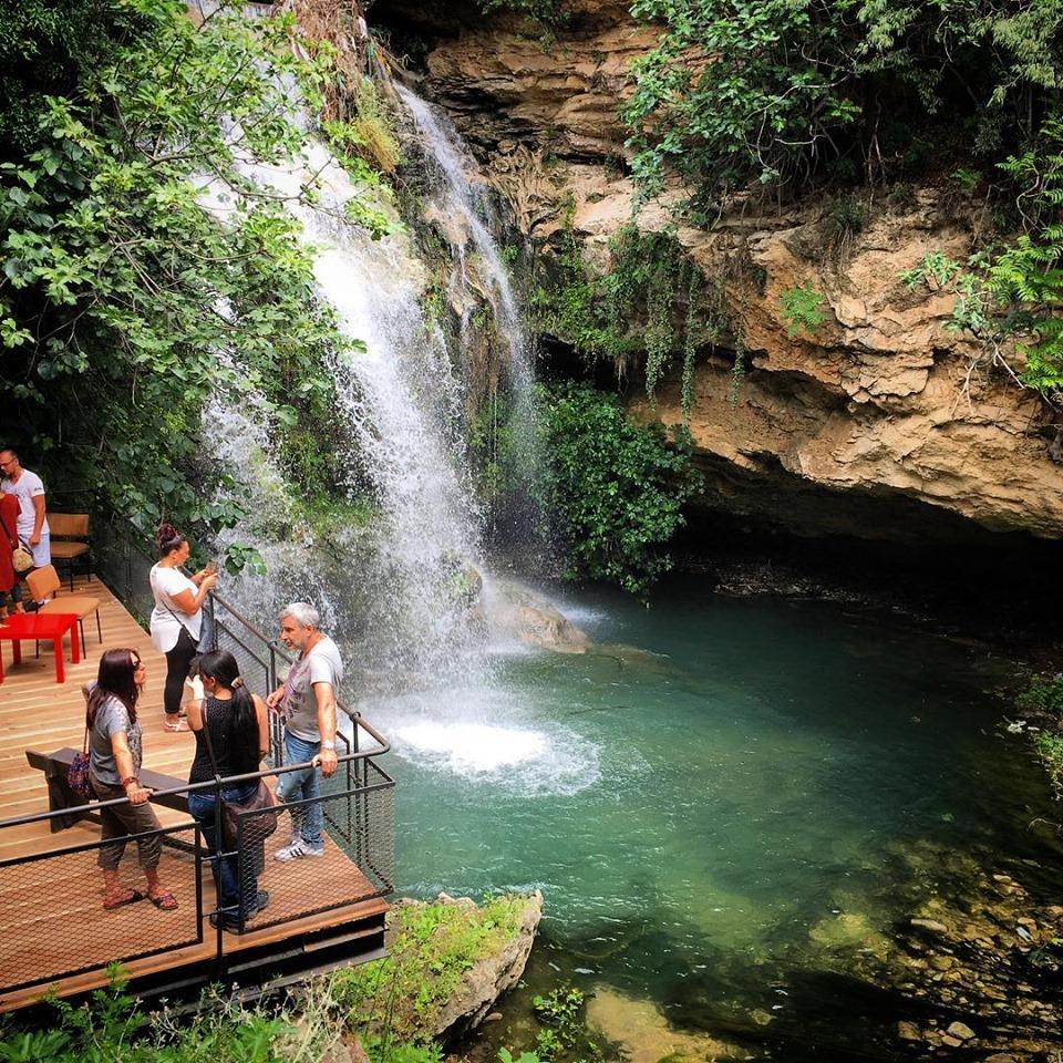 La cascade des Aygalades et son jardin paysager