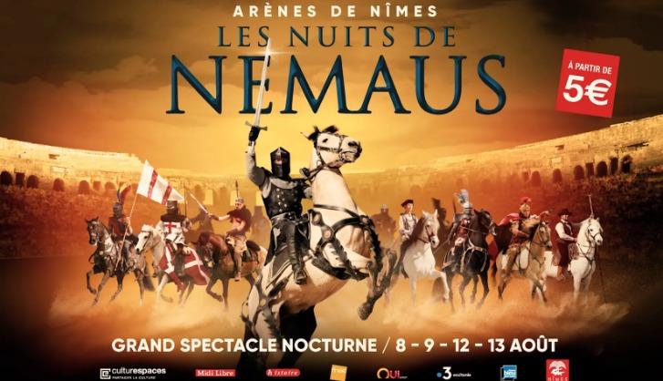 Les Nuits de Nemaus, Nîmes