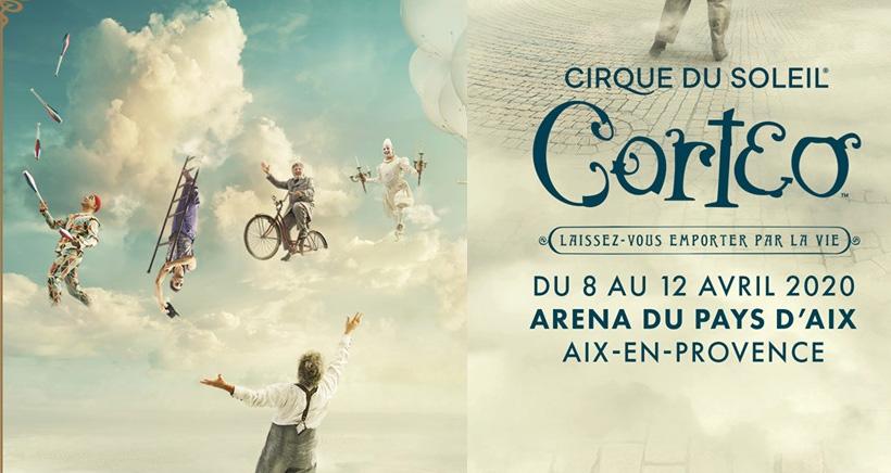 Corteo, cirque du soleil à Aix en Provence