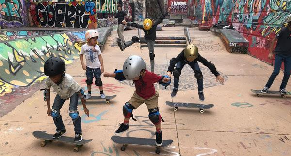cours de skate enfants à Marseille