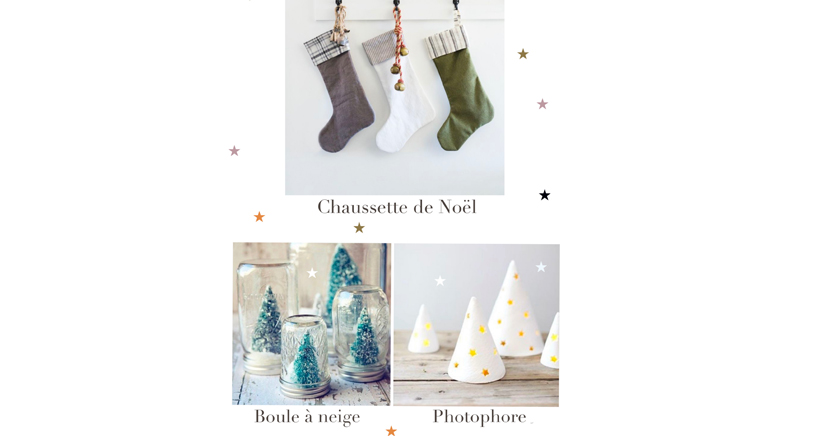 Atelier décoration Noël A little family