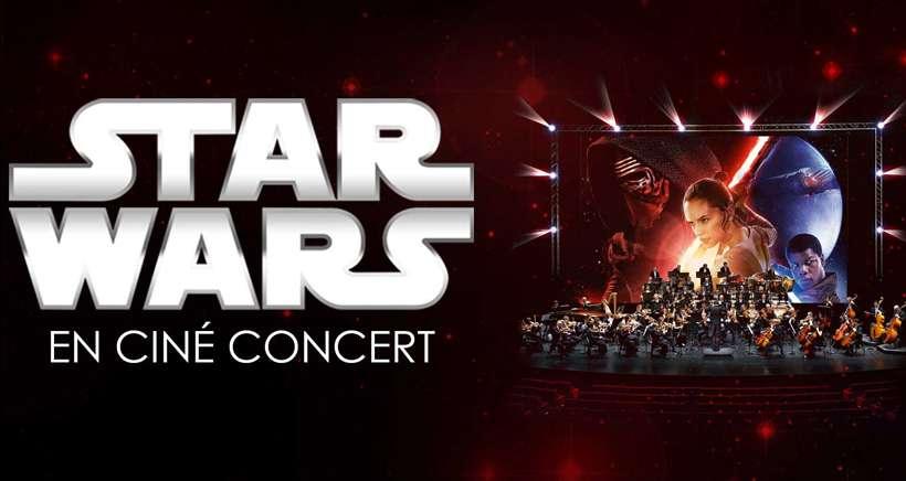 star wars cine-concert à Marseille