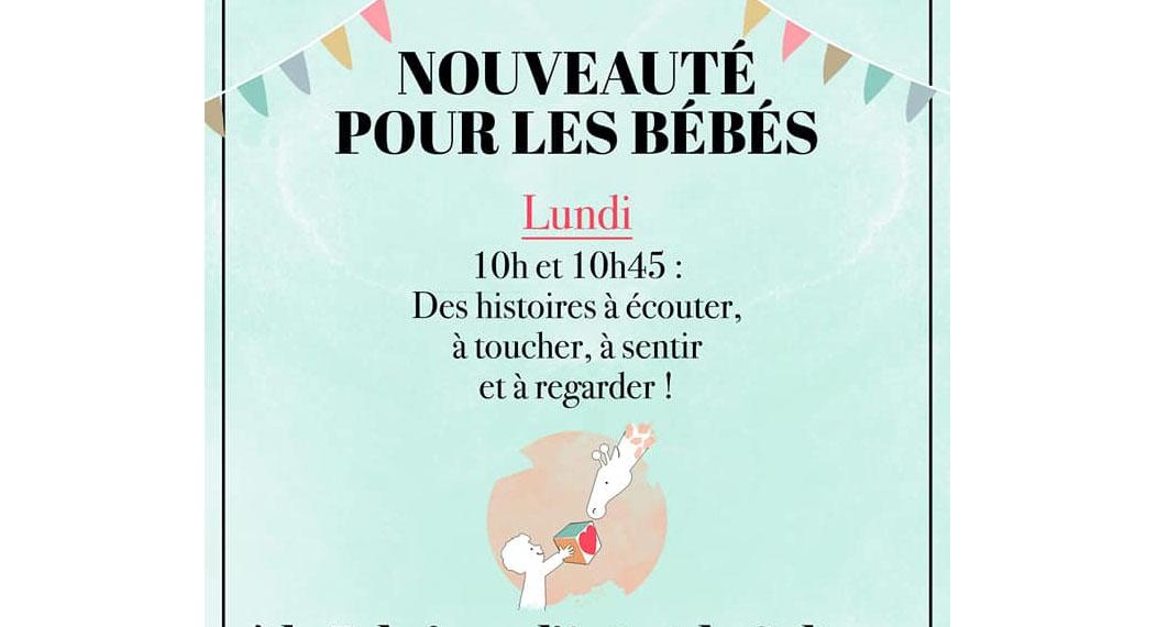 Lecture animée pour les bébés à Marseille