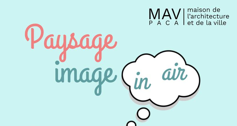 Paysage image in air