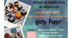 Atelier cupcakes Harry Potter