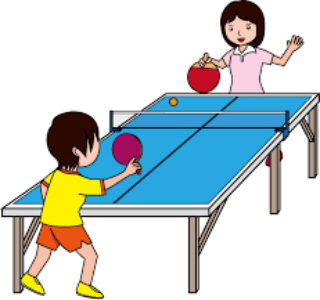 Stages vacances sport Pingpong