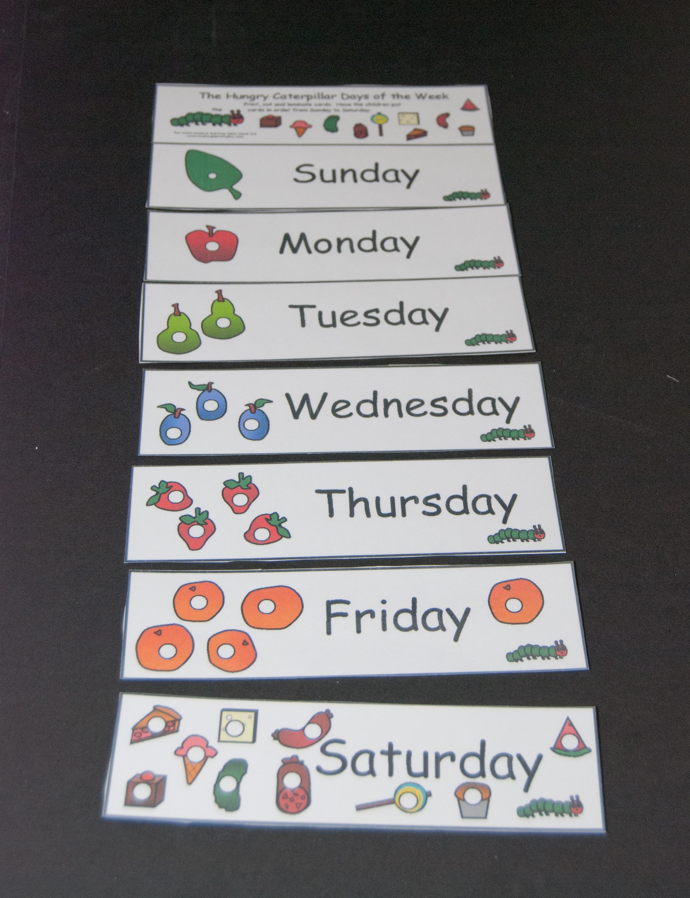 Days Of The Week Que Ganas De Aprender Ingles