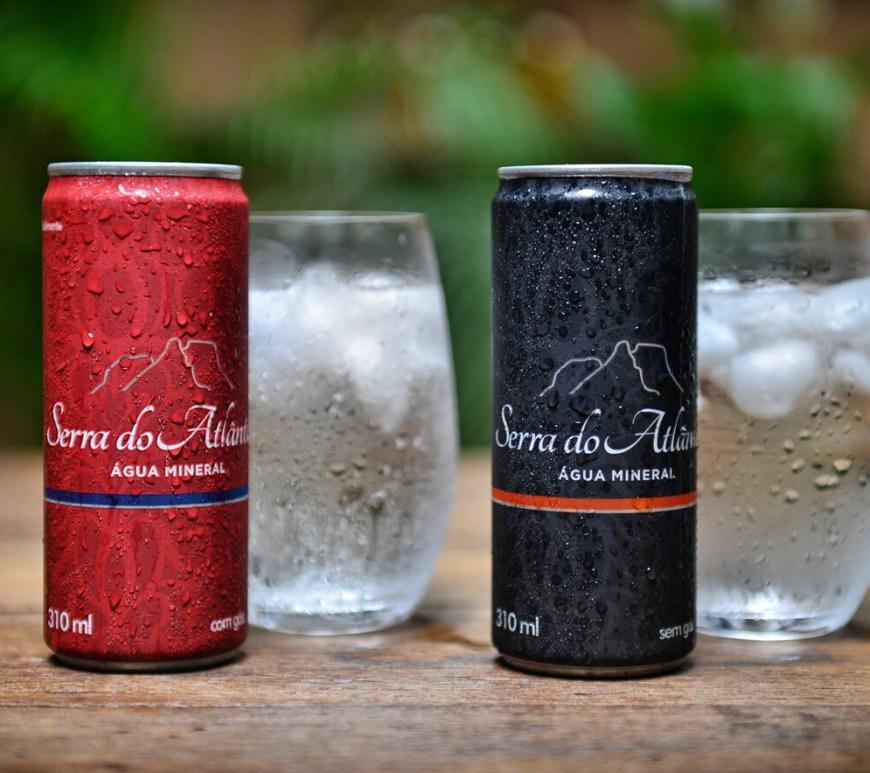 Água Mineral Serra do Atlântico lança embalagem em lata