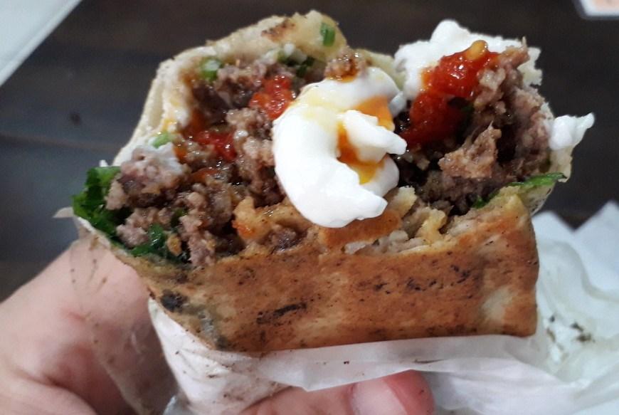 Show! O shawarma com crosta de zaatar do Syria