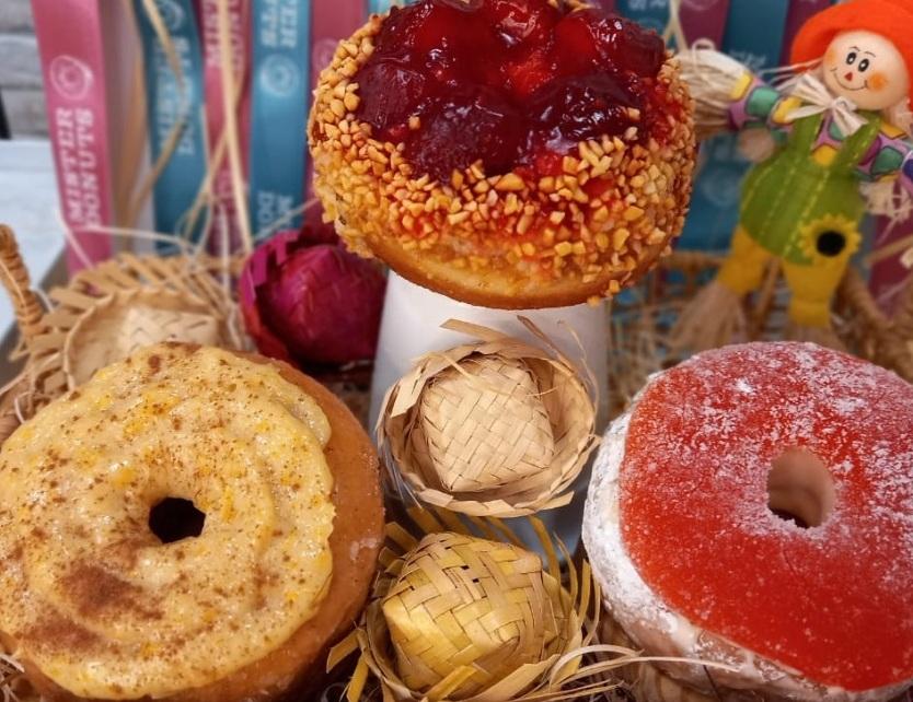 Mister Donuts cria receitas com sabores juninos