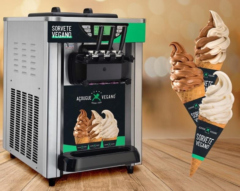 Açougue Vegano - sorvete vegano - divulgação