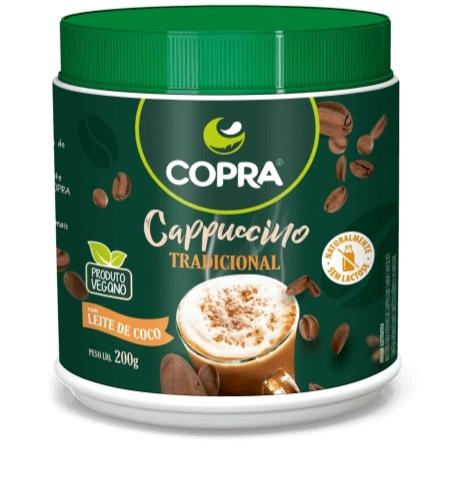 Copra lança linha vegana de cappuccinos