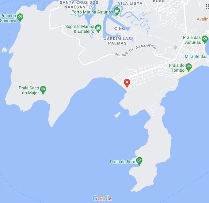Guaruja SP Google Maps