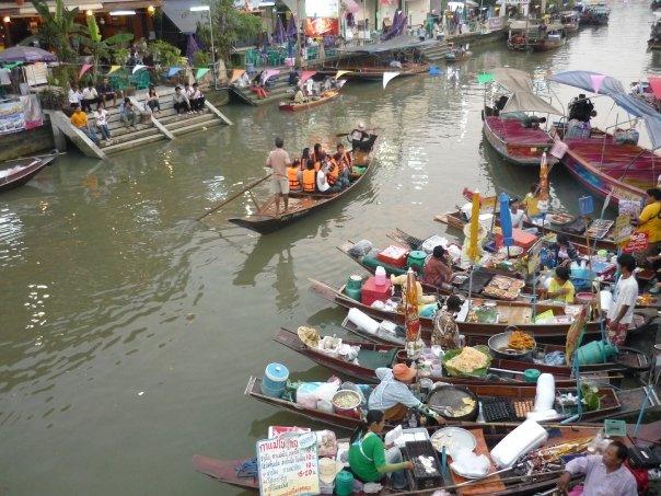 Amphawa El río durante el día foto de Lee de Caires