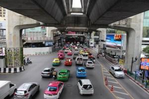 Aeropuerto de Bangkok al centro