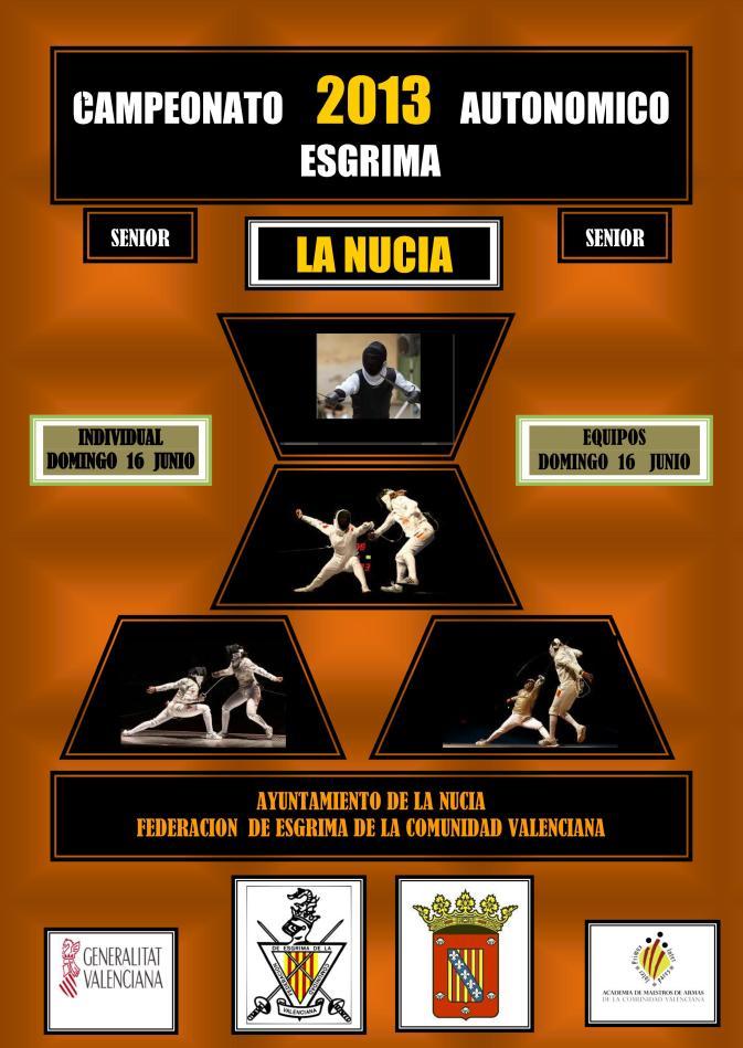 Campeonato Autonómico de Esgrima Absoluto Individual y por Equipos