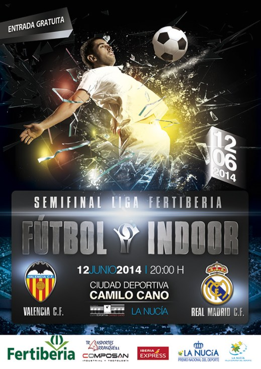 La Nucia Cartel Futbol Indoor 2014
