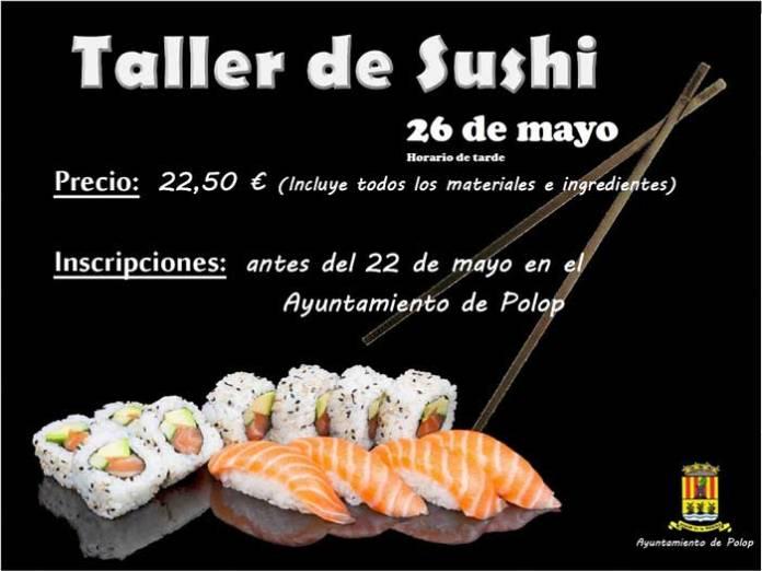 taller de Sushi Polop