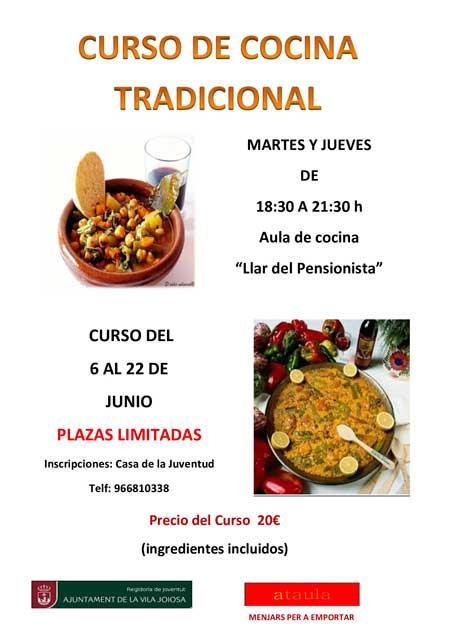 curso cocina tradicional