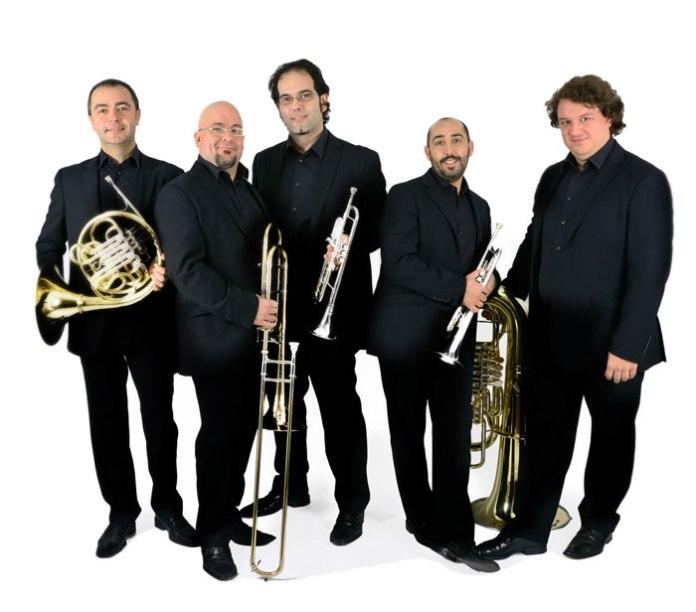 Spanish Brass Quintet ofrece un concierto en el museo villa romana