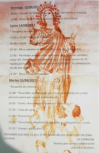 Fiestas de la Asuncion Villajoyosa