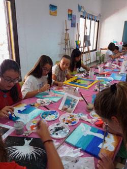 Clases Dibujo y Pintura