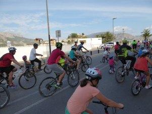 Cortes de calles con motivo del día de la Bici