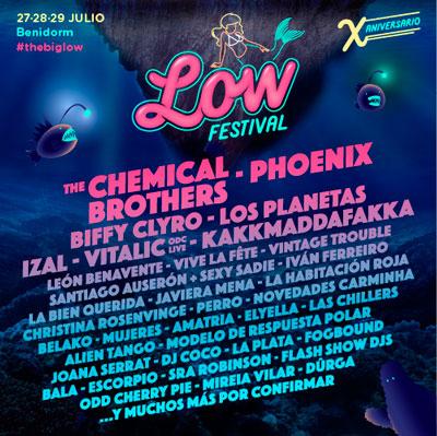que hacer en benidorm - low festival 2018