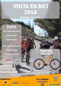 """La """"Volta en Bici"""" 2018 de Altea se desarrollará el domingo 22 de abril. Una actividad de baja dificultad para toda la familia"""