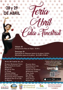 La cala de Finestrat se viste de flamenco el próximo fin de semana