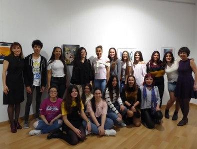 """Alumnas y alumnos del IES La Nucía exponen en """"Artist IES II"""""""