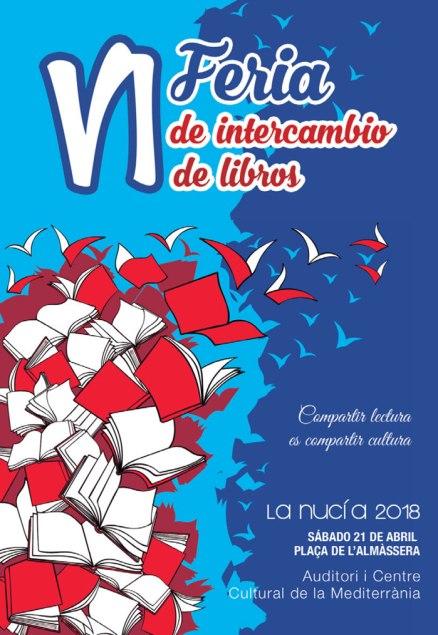 VI Feria de intercambio de libros ofrecerá multitud de actividades para todas las edades