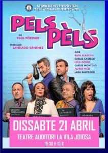"""""""Pels pèls"""" que se representará en el Teatre Auditori de Villajoyosa"""