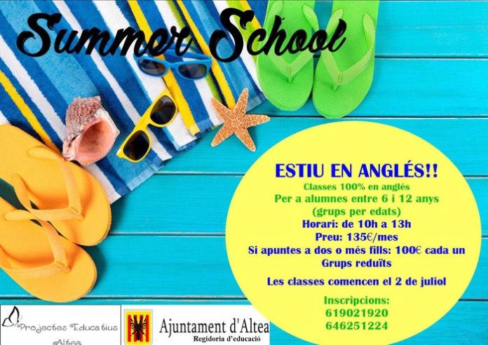 summer school altea