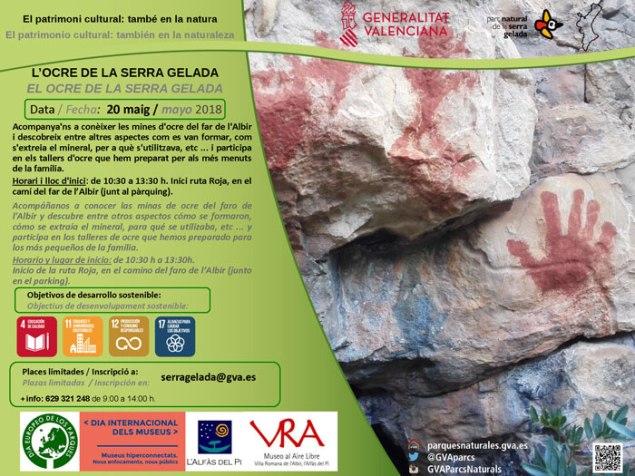 Visita guiada a Serra Gelada para los niños