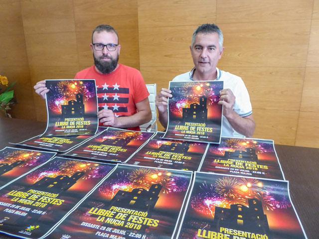 presentacion libro fiestas la nucia 2018