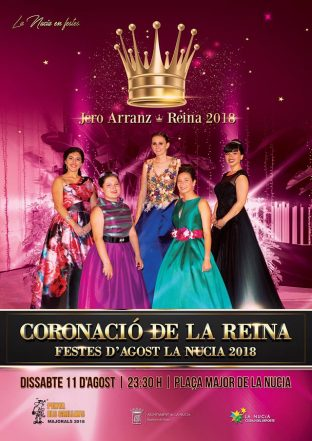 coronacion reina de la nucia 2018