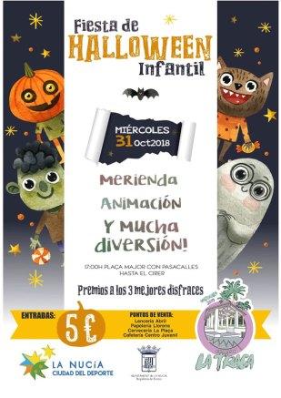 halloween infantil en La Nucia 2018