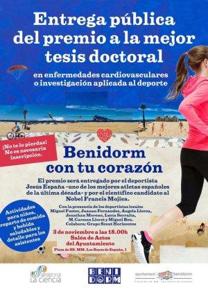 Benidorm premio a la mejor tesis sobre enfermedades cardiovasculares e investigacion aplicada al deporte
