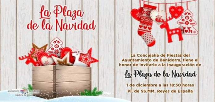 Plaza de la Navidad benidorm 2018