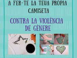 Taller de camisetas contra la violencia de género callosa 2018