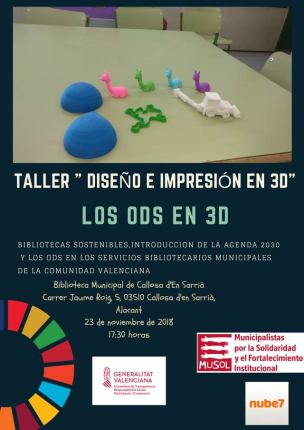 taller impresion 3d callosa 2018