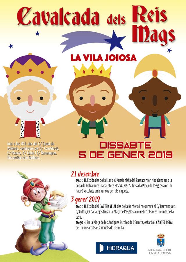 Actividades Navidad La Vila Joiosa 2018