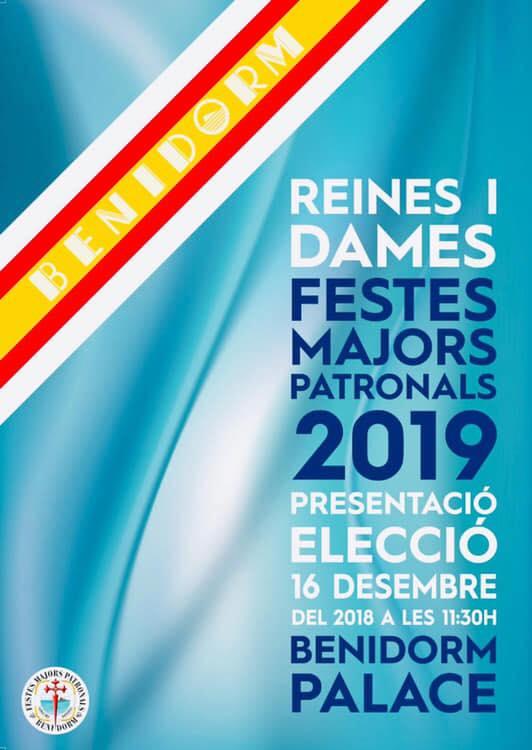 presentacion eleccion reina damas benidorm 2018