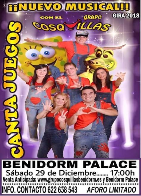 Cantajuegos en Benidorm 2018