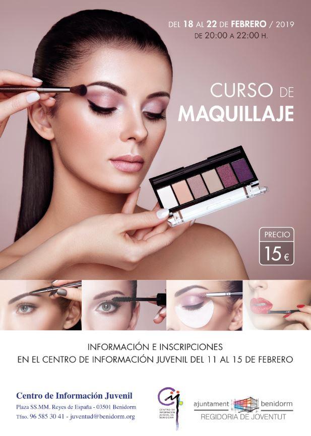 e3cacb56c La Concejalía de Juventud de Benidorm ofrece un curso de maquillaje ...